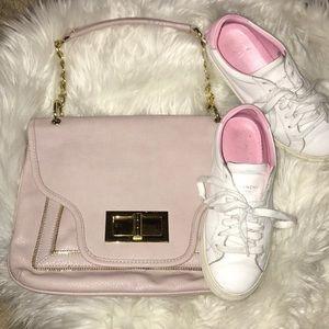 Olivia + Joy light / pastel pink shoulder bag